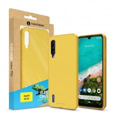 Чехол накладка TPU MakeFuture Flex для Xiaomi Mi A3 Yellow (MCF-XMA3YE)