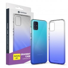 Чехол накладка TPU MakeFuture Air Gradient для Samsung A51 A515 Blue (MCG-SA51BL)