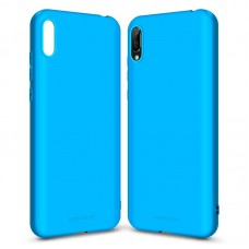 Чехол накладка TPU MakeFuture Skin для Huawei Y6 2019 Light Blue (MCK-HUY619LB)