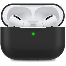 Чехол TPU MakeFuture для наушников Apple AirPods Pro Black (MCL-AAPBK)