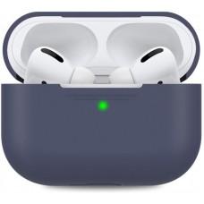 Чехол TPU MakeFuture для наушников Apple AirPods Pro Blue (MCL-AAPBL)