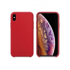 Чехол накладка TPU MakeFuture Silicone для iPhone XS Max Red (MCS-AIXSMRD)