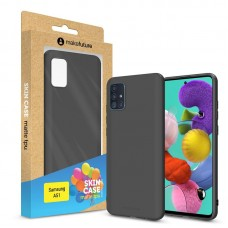Чехол накладка TPU MakeFuture Skin для Samsung A51 A515 Black (MCS-SA51BK)
