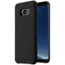 Чехол накладка TPU MakeFuture Silicone для Samsung S8 G950 черный