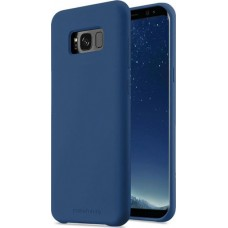 Чехол накладка TPU MakeFuture Silicone для Samsung S8 G950 синий