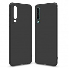 Чехол накладка TPU MakeFuture Skin для Huawei P30 Black (MCSK-HUP30BK)