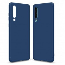 Чехол накладка TPU MakeFuture Skin для Huawei P30 Blue (MCSK-HUP30BL)