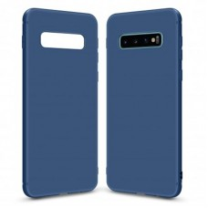 Чехол накладка TPU MakeFuture Skin для Samsung S10 G973 Blue (MCSK-SS10BL)