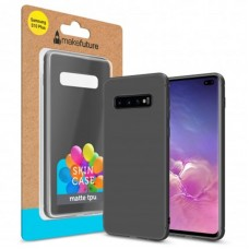 Чехол накладка TPU MakeFuture Skin для Samsung S10 Plus G975 Black