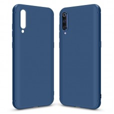 Чехол накладка TPU MakeFuture Skin для Xiaomi Mi 9 Blue (MCSK-XM9BL)