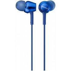 Наушники гарнитура вакуумные Sony MDR-EX255AP Blue (MDREX255APL.E)