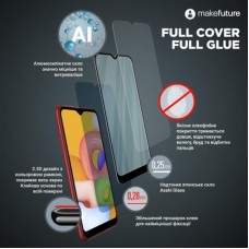 Защитное стекло MakeFuture Full Glue для Apple iPhone 12 Mini Black (MGF-AI12M)