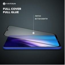 Защитное стекло MakeFuture Full Glue для Apple iPhone 12 Pro Black (MGF-AI12P)