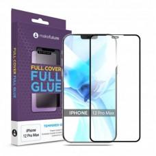 Защитное стекло MakeFuture Full Glue для Apple iPhone 12 Pro Max Black (MGF-AI12PM)
