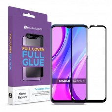 Защитное стекло MakeFuture Full Glue для Xiaomi Redmi 9 Black (MGF-XR9)