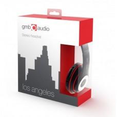 Наушники гарнитура накладные GMB Audio MHS-LAX-B Black
