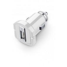 Адаптер автомобильный Cellularline 1USB 2A White (MICROCBRUSB2AW)