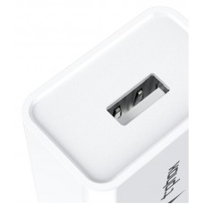 Зарядное устройство сетевое T-phox Mini 1USB 2.4A White + cable USB-Type-C
