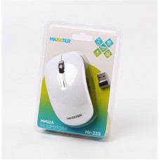 Мышь Wireless Maxxter Mr-333-W White USB