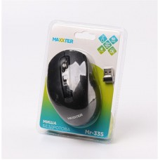 Мышь Wireless Maxxter Mr-335 Black USB