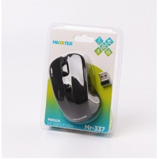 Мышь Wireless Maxxter Mr-337 Black USB