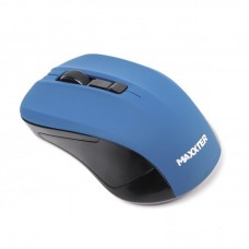 Мышь Wireless Maxxter Mr-337-Bl Blue USB