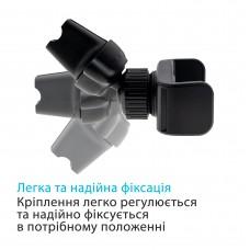Автодержатель Grand-X (крепление на дефлектор) MT-08 Black