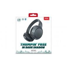 Наушники гарнитура накладные Bluetooth TCL MTRO200BT Shadow Black (MTRO200BTBK-EU)