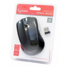 Мышь Wireless Gembird MUSW-101 Black USB