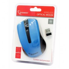Мышь Wireless Gembird MUSW-101-B Blue USB