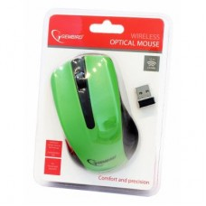 Мышь Wireless Gembird MUSW-101-G green USB
