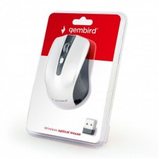 Мышь Wireless Gembird MUSW-4B-04-BS Black/Silver USB