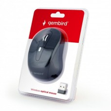 Мышь Wireless Gembird MUSW-6B-01 Black USB