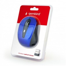 Мышь Wireless Gembird MUSW-6B-01-B Blue USB