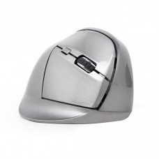 Мышь Wireless Gembird MUSW-ERGO-02 Grey USB