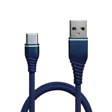 Кабель USB-Type-C Grand-X NC-012 1.2m Blue