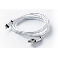 Кабель USB-Lightning Dengos 1.5m White (NTK-L-DL-WHITE)