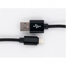 Кабель Dengos USB-Lightning 1m Black (NTK-L-MT-BLACK)