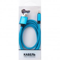 Кабель USB-Lightning Dengos 1m Blue (NTK-L-MT-BLUE)