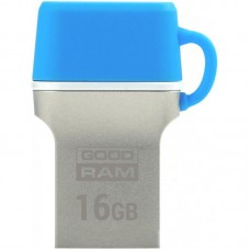 Флешка USB 3.0 16GB Type-C GoodRam ODD3 DualDrive Blue (ODD3-0160B0R11)