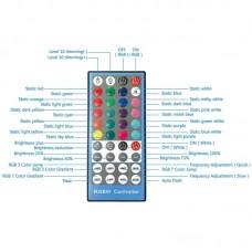 "Лампа кольцевая LED USB RGBW Puluz PKT3043 10"" + штатив 1.1 м (PKT3043) Black"