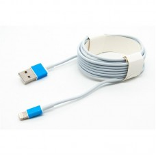 Кабель USB-Lightning Dengos 3m White (PLS-L-3M-WHITE)