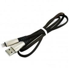 Кабель USB-Lightning Dengos 1m Black (PLS-L-PLSK-BLACK)