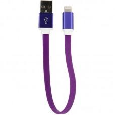 Кабель USB-Lightning Dengos 0.2m Purple (PLS-L-SHRT-PLSK-PURPLE)