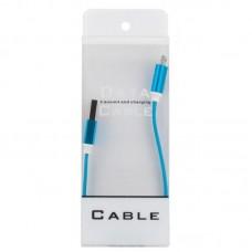 Кабель USB-MicroUSB Dengos 0.2m Blue (PLS-M-SHRT-PLSK-BLUE)