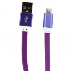 Кабель USB-MicroUSB Dengos 0.2m Purple (PLS-M-SHRT-PLSK-PURPLE)