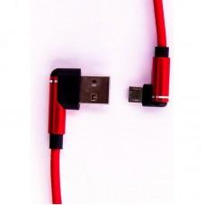 Кабель USB-MicroUSB Dengos 1m Red (PLS-M-UG-SOFT-RED)