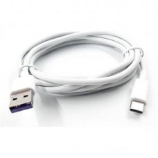 Кабель Dengos USB-Type-C 2m White (PLS-TC-2M-USB3)