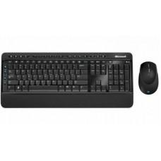 Комплект клавиатура + мышь Wireless Microsoft Desktop 3050 (PP3-00018) Black USB