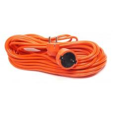 Удлинитель PowerPlant JY-3024/15 1 розетка 15m 8A Orange